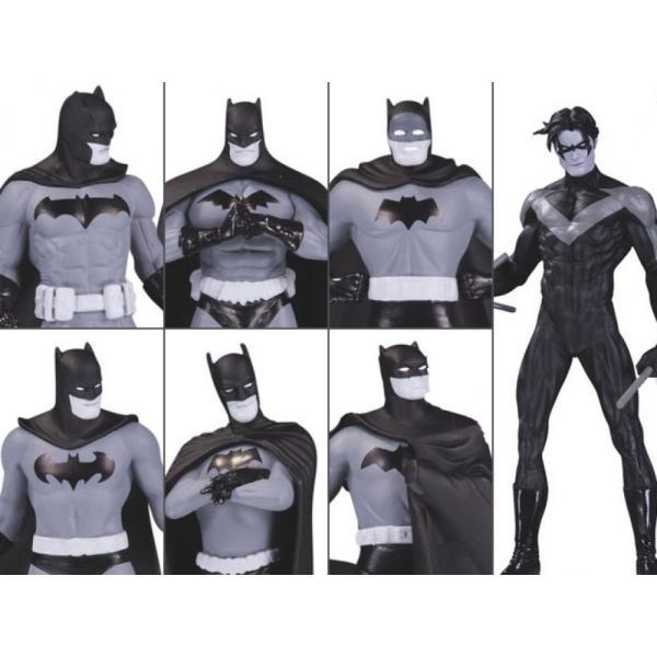 DC COMICS フィギュア Batman Black and White Mini Figure Box Set #1|fermart-hobby