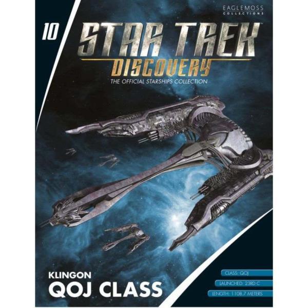 スタートレック STAR TREK フィギュア star trek: discovery collection #10 klingon qoj class|fermart-hobby|02