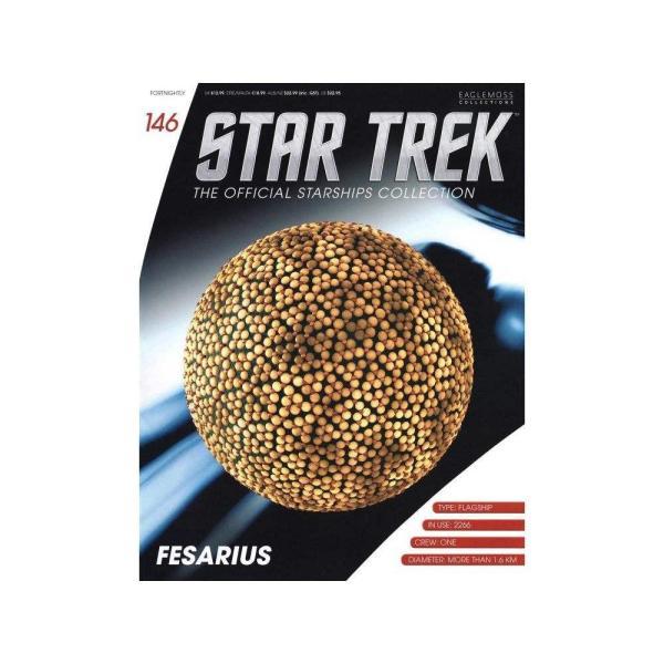 スタートレック STAR TREK フィギュア star trek starships collection #146 fesarius|fermart-hobby|02