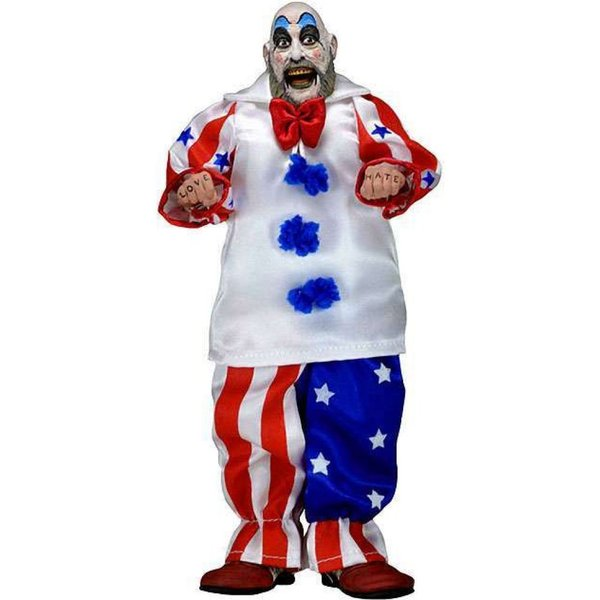 マーダー ライド ショー House of 1000 Corpses フィギュア Captain Spaulding Clothed Action Figure|fermart-hobby|02