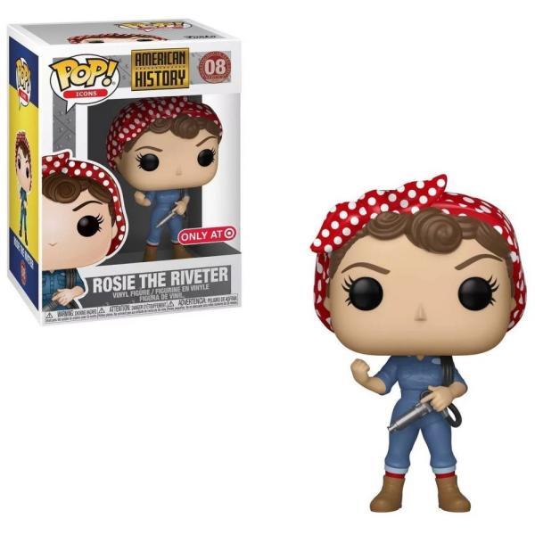 ファンコ Funko フィギュア ビニールフィギュア American History POP! Icons Rosie the Riveter Exclusive Vinyl figure fermart-hobby