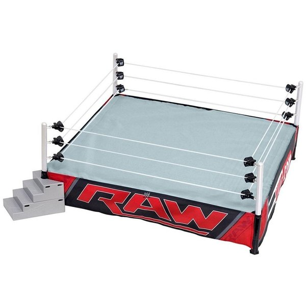 WWE WWE Wrestling フィギュア Authentic Scale Ring Action Figure Playset [Raw Edition]|fermart-hobby
