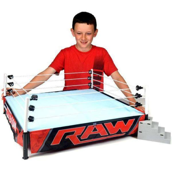 WWE WWE Wrestling フィギュア Authentic Scale Ring Action Figure Playset [Raw Edition]|fermart-hobby|02