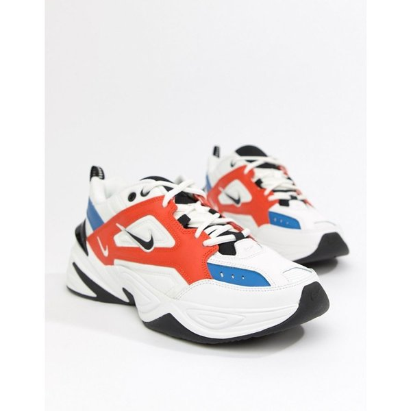 ナイキ Nike メンズ スニーカー シューズ・靴 M2K Tekno Trainers In White AV4789-100 White|fermart-shoes