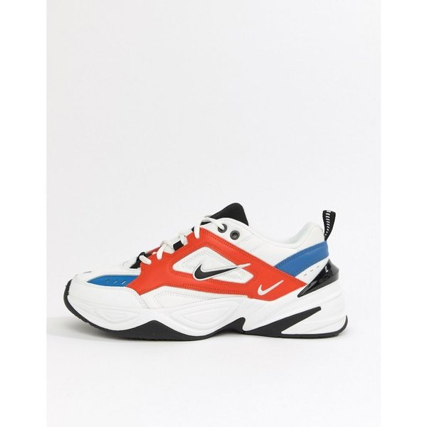 ナイキ Nike メンズ スニーカー シューズ・靴 M2K Tekno Trainers In White AV4789-100 White|fermart-shoes|02