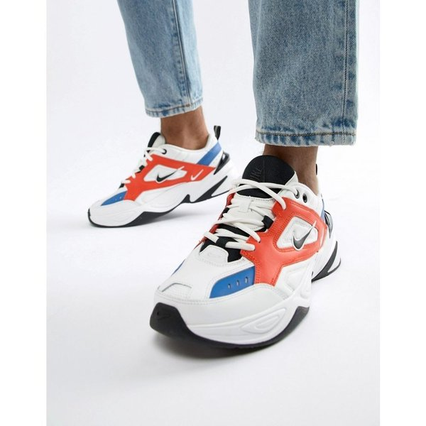 ナイキ Nike メンズ スニーカー シューズ・靴 M2K Tekno Trainers In White AV4789-100 White|fermart-shoes|03