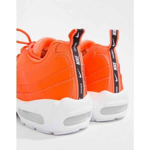 ナイキ Nike メンズ スニーカー シューズ・靴 Air Max 95 Premium Trainers In Orange 538416-801 Orange|fermart-shoes|02
