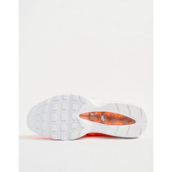 ナイキ Nike メンズ スニーカー シューズ・靴 Air Max 95 Premium Trainers In Orange 538416-801 Orange|fermart-shoes|04