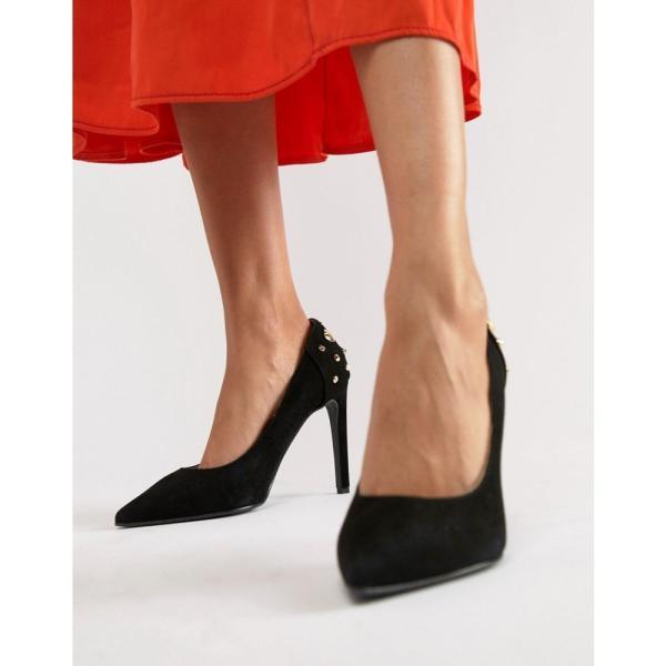 モスキーノ Love Moschino レディース パンプス シューズ・靴 pointed heeled shoes Black