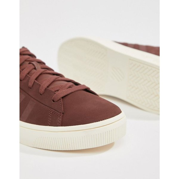 ケースイス K-Swiss メンズ スニーカー シューズ・靴 K Swiss Court Frasco trainer in burgundy Rumraisin|fermart-shoes|03