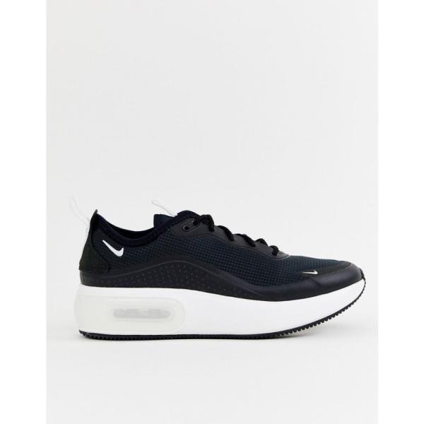 ナイキ Nike レディース スニーカー シューズ・靴 black Air Max Dia trainers Black/summit white
