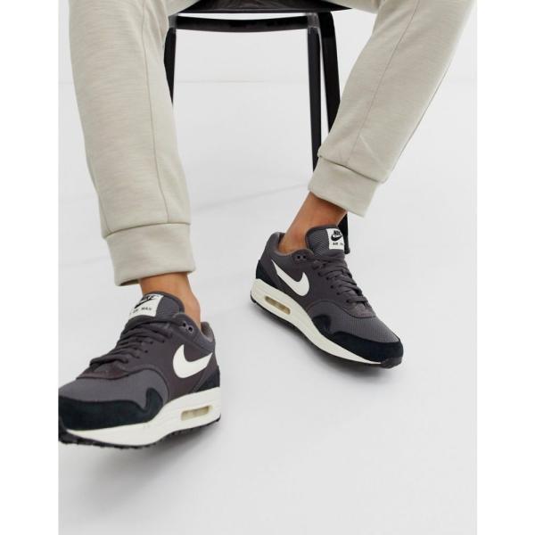 ナイキ Nike メンズ スニーカー シューズ・靴 Air Max 1 Trainers In Navy Navy|fermart-shoes|04