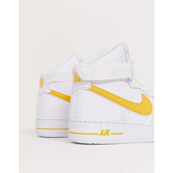ナイキ Nike メンズ スニーカー シューズ・靴 Air Force 1 high trainers in gold Gold fermart-shoes 02