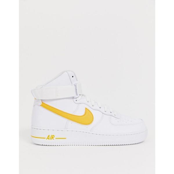 ナイキ Nike メンズ スニーカー シューズ・靴 Air Force 1 high trainers in gold Gold fermart-shoes 03