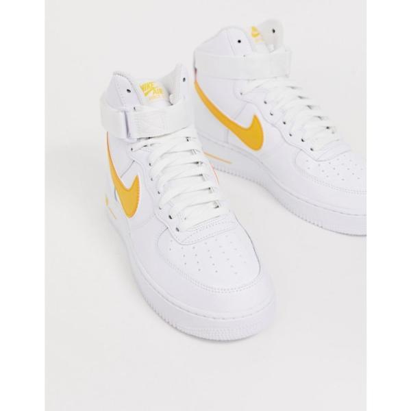 ナイキ Nike メンズ スニーカー シューズ・靴 Air Force 1 high trainers in gold Gold fermart-shoes 04
