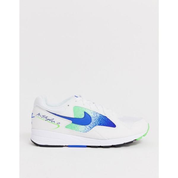 ナイキ Nike メンズ スニーカー シューズ・靴 Air Skylon II trainers in blue Blue|fermart-shoes|02