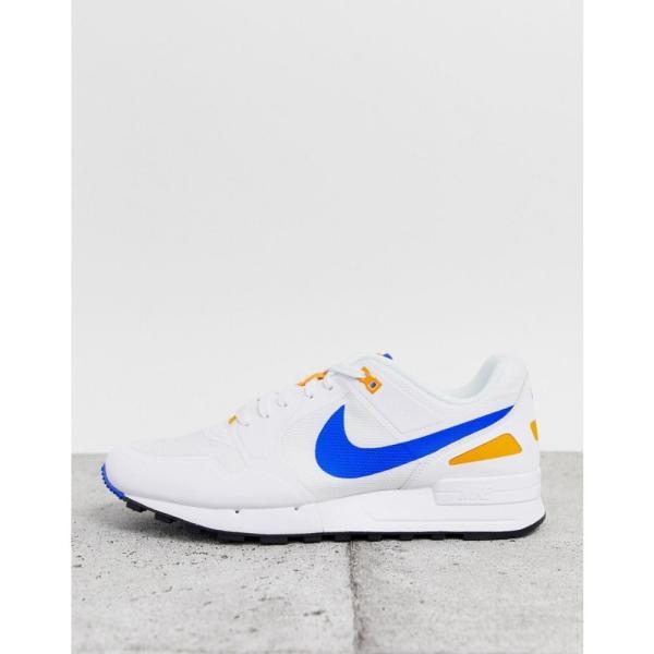 ナイキ Nike メンズ スニーカー シューズ・靴 Air Pegasus '89 trainers in white White fermart-shoes 03