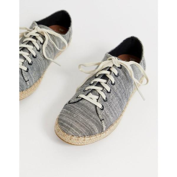 トムス Toms レディース エスパドリーユ シューズ・靴 TOMs linen espadrille trainers Black
