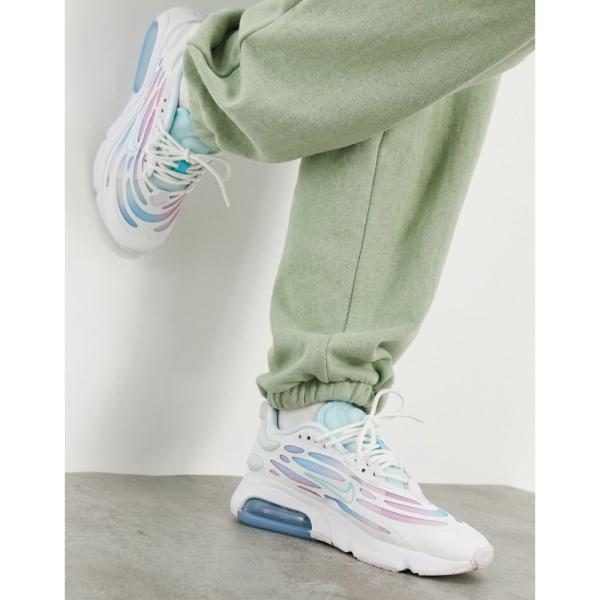 ナイキ Nike レディース スニーカー シューズ・靴 Air max Exosense Trainers in white