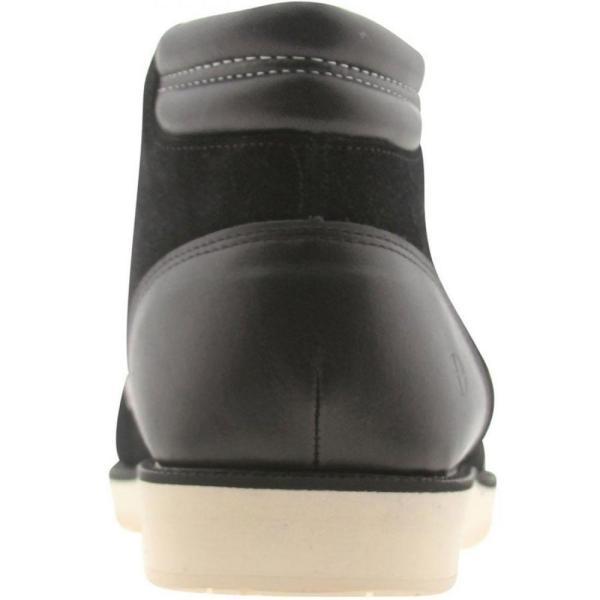 コーズ Cause メンズ スニーカー シューズ・靴 Side Zip Wallaby black|fermart-shoes|02
