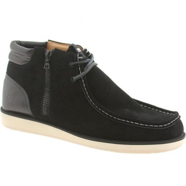 コーズ Cause メンズ スニーカー シューズ・靴 Side Zip Wallaby black|fermart-shoes|05