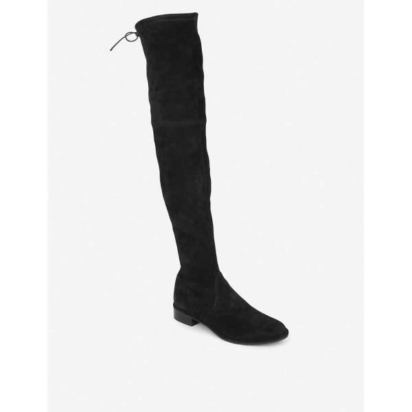 スチュアート ワイツマン stuart weitzman レディース シューズ・靴 ブーツ lowland suede thigh boots Black