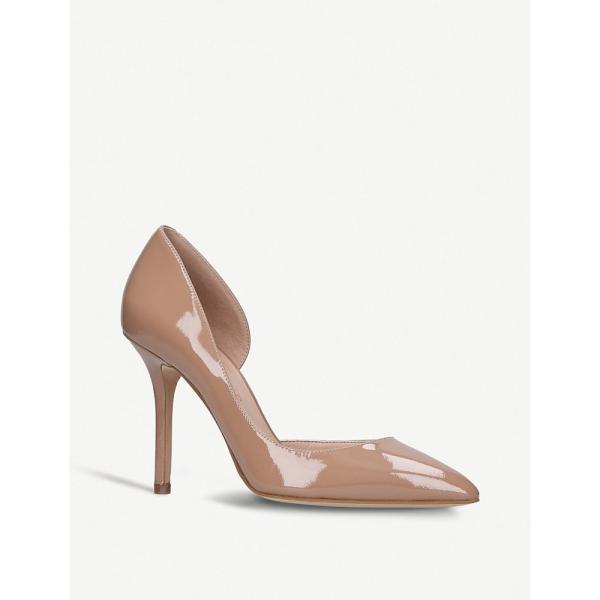 カート ジェイガー kurt geiger london レディース パンプス シューズ・靴 belgravia patent heeled courts Nude