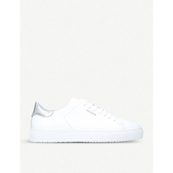 アクセルアリガト axel arigato レディース スニーカー シューズ・靴 clean 90 leather trainers White/comb