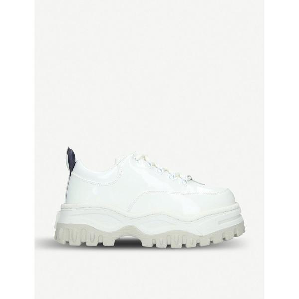 エイティーズ eytys レディース スニーカー シューズ・靴 angel patent-leather chunky trainers White