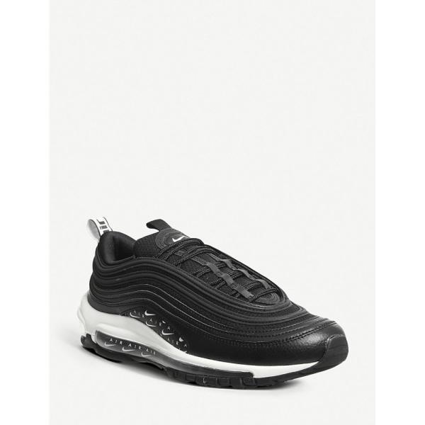 ナイキ nike レディース スニーカー シューズ・靴 air max 97 leather trainers Black black white lx