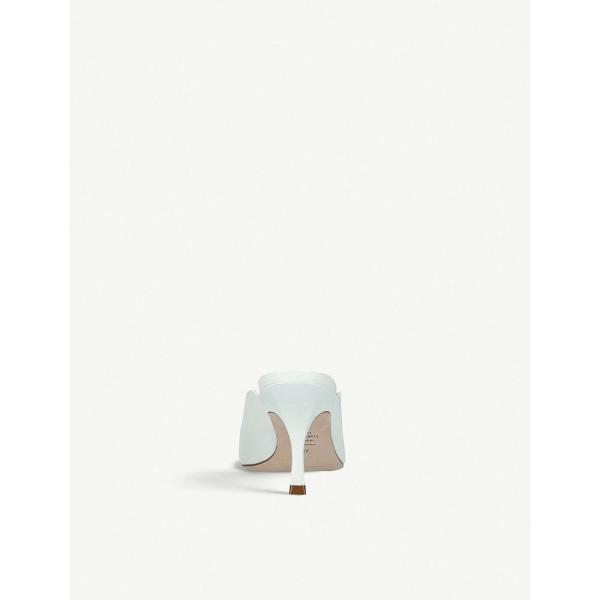 スチュアート ワイツマン stuart weitzman レディース サンダル・ミュール シューズ・靴 lulah leather mules Cream