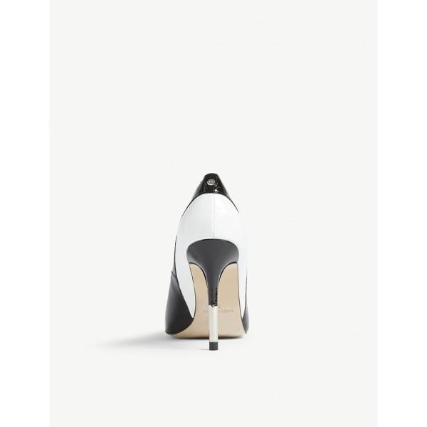 カレンミレン karen millen レディース パンプス シューズ・靴 contrast heeled courts Monochrome