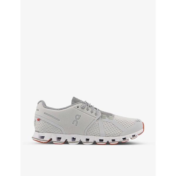 オン ランニング ON-RUNNING メンズ スニーカー シューズ・靴 Cloud mesh mid-top trainers GLACIER WHITE
