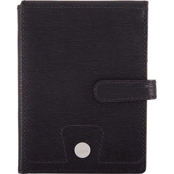 ローディス Lodis レディース パスポートケース Bel Air Passport Wallet with Ticket Flap black