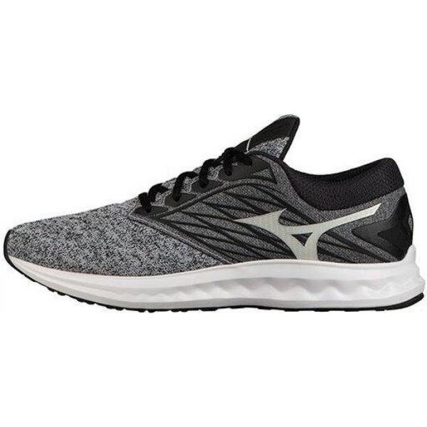 ミズノ Mizuno レディース ランニング・ウォーキング シューズ・靴 Wave Polaris Running Shoe heathered grey