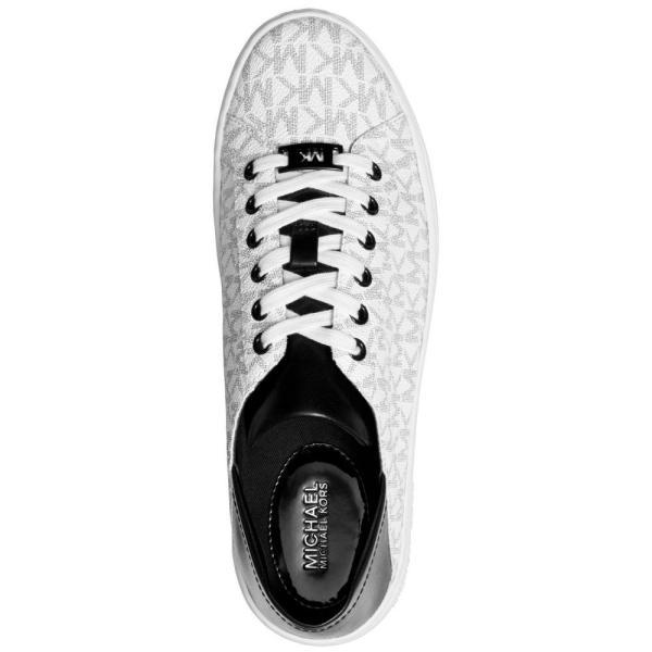 マイケル コース Michael Kors レディース スニーカー シューズ・靴 Bailee Sneakers White/ Black