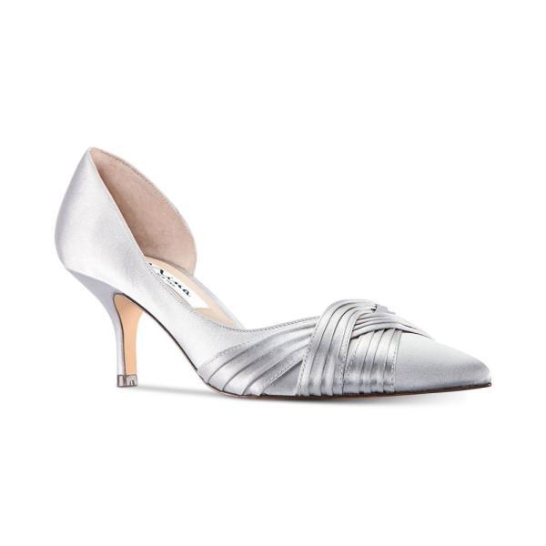 ニナ Nina レディース パンプス シューズ・靴 Blakely Evening Pumps Silver