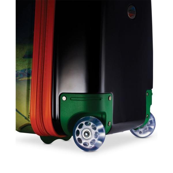 """アメリカンツーリスター American Tourister ユニセックス スーツケース・キャリーバッグ バッグ Ninja Turtles 18"""" Hardside Rolling Suitcase By"""