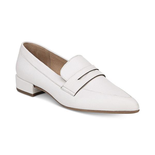 フランコサルト Franco Sarto レディース ローファー・オックスフォード シューズ・靴 Zelda Pointed-Toe Loafers White