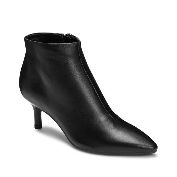 エアロソールズ Aerosoles レディース ブーツ シューズ・靴 Epigram Booties Black Leather