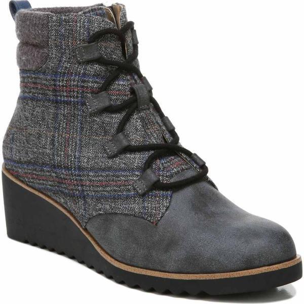 ライフストライド LifeStride レディース ブーツ ショートブーツ シューズ・靴 Zone Booties Grey Multi Microsuede/fabric