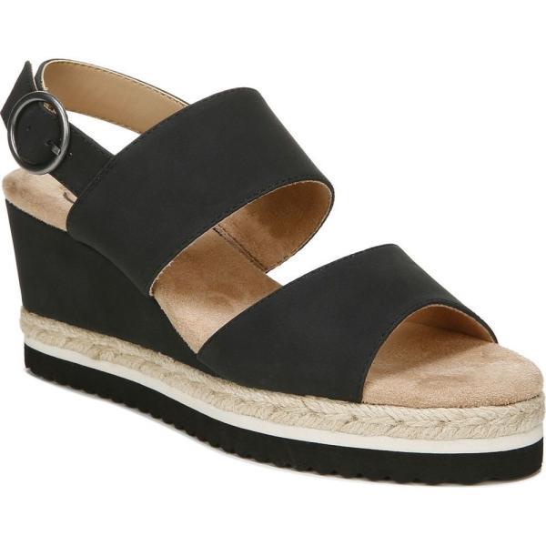 ライフストライド LifeStride レディース エスパドリーユ ウェッジソール サンダル・ミュール シューズ・靴 Brielle Espadrille Wedge Sandals Black