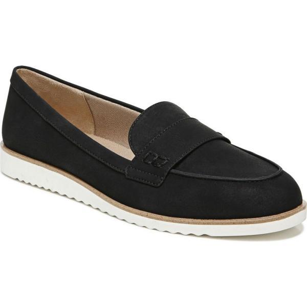 ライフストライド LifeStride レディース スリッポン・フラット シューズ・靴 Zee Slip-ons Black Fabric