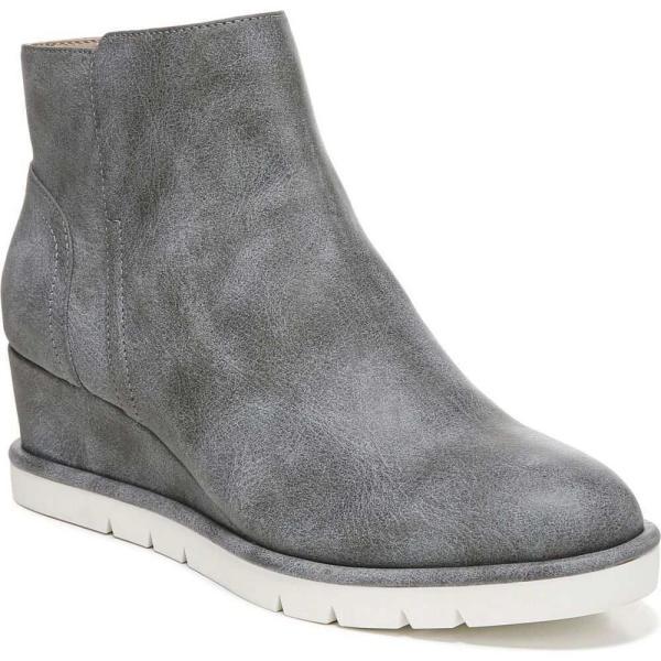 ライフストライド LifeStride レディース ブーツ ショートブーツ シューズ・靴 Swift Booties Charcoal Faux Leather