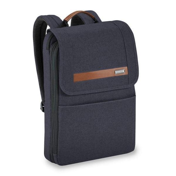 ブリッグスアンドライリー Briggs & Riley レディース バックパック・リュック バッグ Kinzie Street 2.0 Slim Expandable Backpack Navy