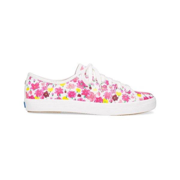 ケイト スペード kate spade new york レディース スニーカー シューズ・靴 Kickstart Floral Sneakers Floral