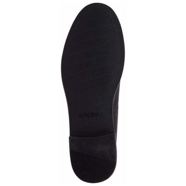スペリー Sperry レディース ローファー・オックスフォード シューズ・靴 Seaport Levy Memory-Foam Loafers Black