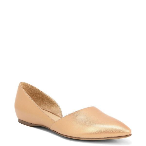 ナチュラライザー Naturalizer レディース スリッポン・フラット シューズ・靴 Samantha Flats Metallic Peach