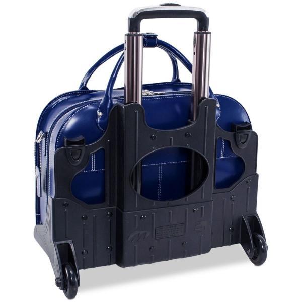 マックレーン McKlein ユニセックス スーツケース・キャリーバッグ バッグ Roseville Detachable Wheeled Briefcase Navy