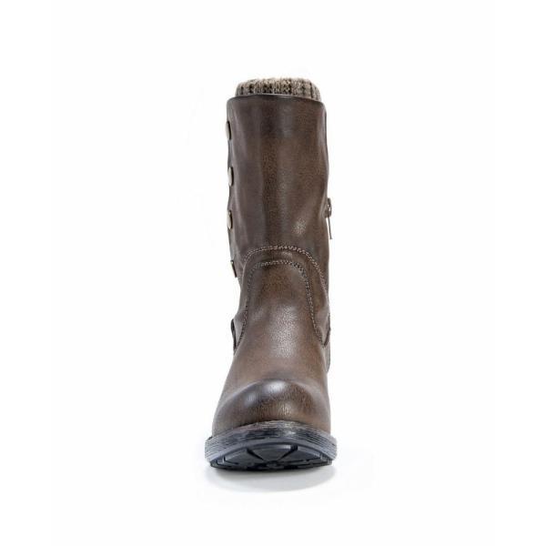 ムクルクス Muk Luks レディース ブーツ シューズ・靴 Crumpet Boots Brown